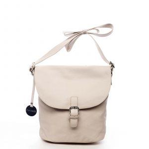 Dámská kabelka přes rameno světle béžová – DIANA & CO Leilla béžová