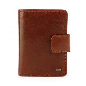 Uniko Kožená peněženka Unisex Label 213906 – hnědá
