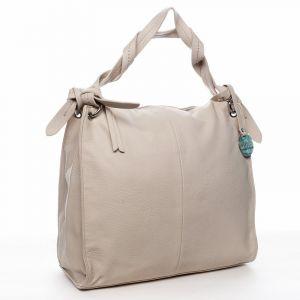 Dámská kabelka přes rameno béžová – DIANA & CO Franczeska béžová