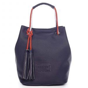 Dámská kabelka tmavě modrá – Carine C2000 tmavě modrá