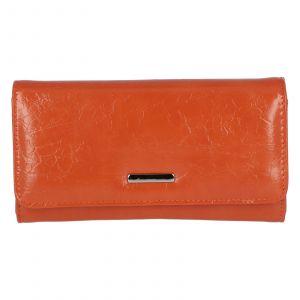 Dámské psaníčko do ruky oranžové – Michelle Moon F290 oranžová