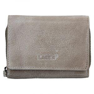 Dámská kožená peněženka Lagen Viola – taupe