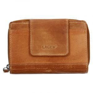 Dámská kožená peněženka Lagen Agáta – světle hnědá