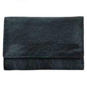 Dámská kožená peněženka Lagen Denisa – modro-šedá
