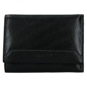 Dámská kožená peněženka Lagen Jarmila – černá