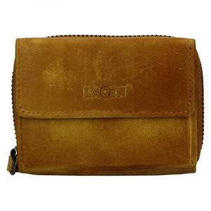 Dámská kožená peněženka Lagen Carmen – žlutá