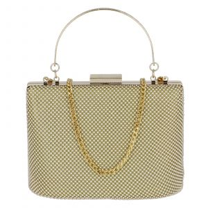 Dámské perleťové psaníčko zlaté – Michelle Moon V380 zlatá