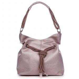 Dámská kabelka růžová – Carine C1000 růžová