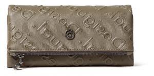 Desigual khaki peněženka Mone Colorama Rocio