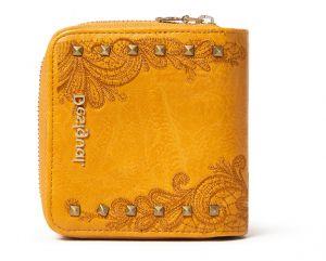 Desigual hořčicová peněženka Mone Martini Lucia
