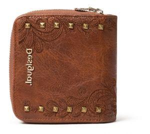 Desigual hnědá peněženka Mone Martini Lucia