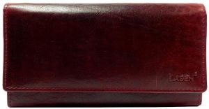 Lagen Dámská kožená peněženka v-40/t W.Red