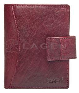 Lagen Dámská kožená peněženka 3808/T Red