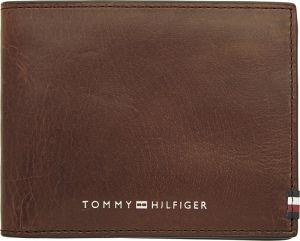 Tommy Hilfiger Pánská kožená peněženka Polished Leather Mini Cc Wallet AM0AM06304GBT