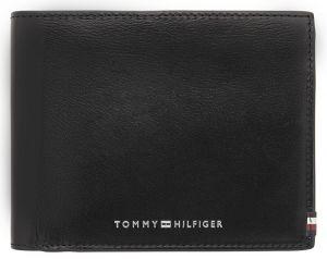 Tommy Hilfiger Pánská kožená peněženka Polished Leather Cc Flap & Coin AM0AM06301BDS