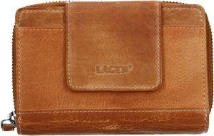 Lagen Dámská kožená peněženka 931/D Caramel