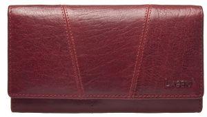 Lagen Dámská kožená peněženka PWL-388/T Red
