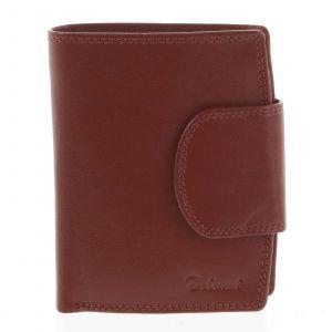 Kožená peněženka červená – Delami Chase červená