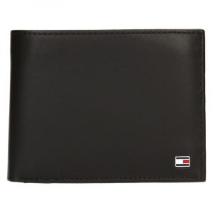 Pánská kožená peněženka Tommy Hilfiger Gunnar – tmavě hnědá