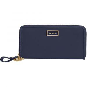 Samsonite Dámská velká peněženka Karissa 2.0 – tmavě modrá
