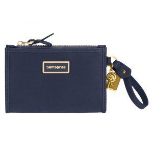 Samsonite Malá dámská peněženka Karissa 2.0 – tmavě modrá