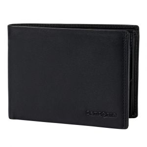 Samsonite Pánská kožená peněženka Success 2 007 RFID – černá