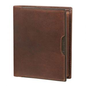 Samsonite Pánská kožená peněženka Oleo 122 RFID – tmavě hnědá