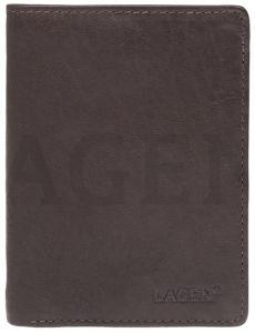 Lagen Pánská kožená peněženka 2103 E Brown