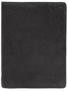 Lagen Pánská kožená peněženka 2103 E Black