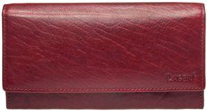 Lagen Dámská kožená peněženka v-40/t Red
