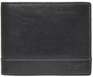 Lagen Pánská kožená peněženka 1996/t Black
