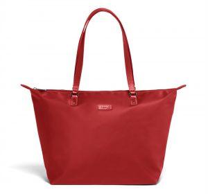 Lipault Dámská shopper kabelka Lady Plume M – červená