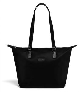 Lipault Dámská shopper kabelka Lady Plume S – černá