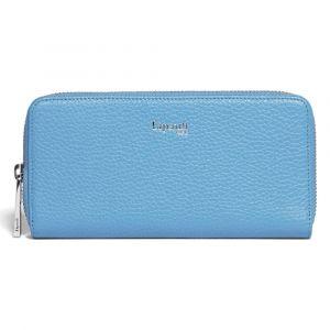 Lipault Dámská kožená peněženka Invitation – světle modrá