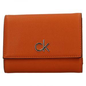 Dámská peněženka Calvin Klein Trifoldia – oranžová