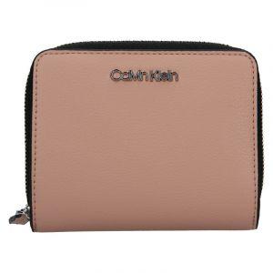 Dámská peněženka Calvin Klein Purple – starorůžová