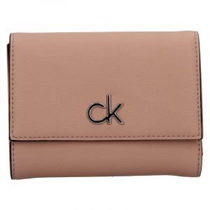 Dámská peněženka Calvin Klein Trifoldia – růžová