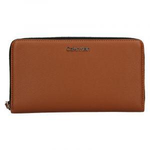 Dámská peněženka Calvin Klein Wallie – hnědá