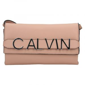 Dámská crossbody kabelka Calvin Klein Europa – růžová