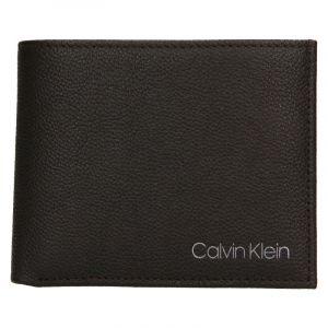 Pánská kožená peněženka Calvin Klein Bifold – hnědá