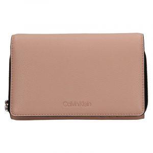 Dámská peněženko-kabelka Calvin Klein Minies – růžová