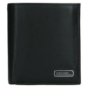 Pánská kožená peněženka Calvin Klein Tifol – černá