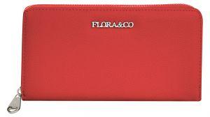 FLORA & CO Dámská peněženka X2706 Rouge