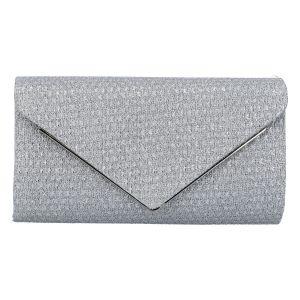 Originální dámské psaníčko stříbrné – Michelle Moon HL442 stříbrná