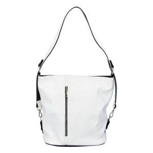Dámská kabelka přes rameno bílá – Ellis Haarlem bílá