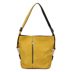 Dámská kabelka přes rameno žlutá – Ellis Haarlem žlutá
