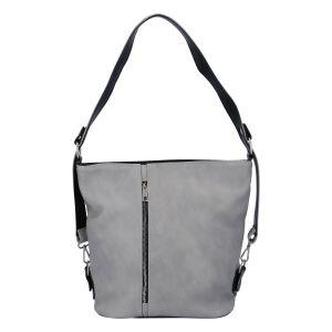 Dámská kabelka přes rameno šedá – Ellis Haarlem šedá