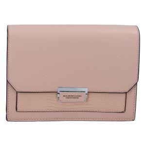 Dámská crossbody kabelka růžová – Silvia Rosa Inkany růžová