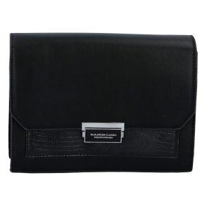 Dámská crossbody kabelka černá – Silvia Rosa Inkany černá