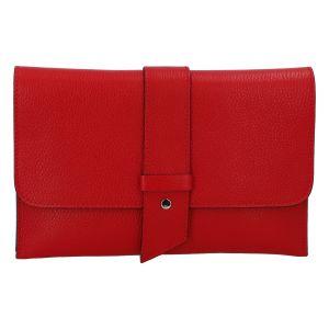 Luxusní dámská kabelka červená – ItalY Brother červená